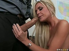 A massive cock gets shoved into the snatch of Mckenzie Miles