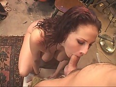 Luscious Gianna Michaels drools over a huge dick