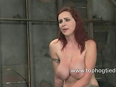 Berlin loves bondage with her huge tits
