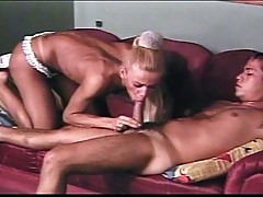 Gorgeous shemale in epic hardcore sex