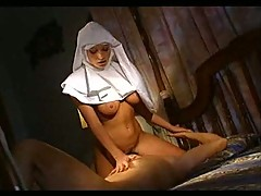 Culpable and hot nun