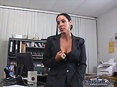 Jazzy loves office sex