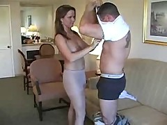 Pantyhose milf and fireman