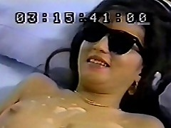 Sexy blind Asian chick in wild sexcapade