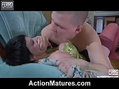 Hot Sex With The Mature Brunette Stephanie