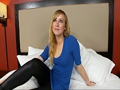 Blonde 19 year old college girl in need o ...